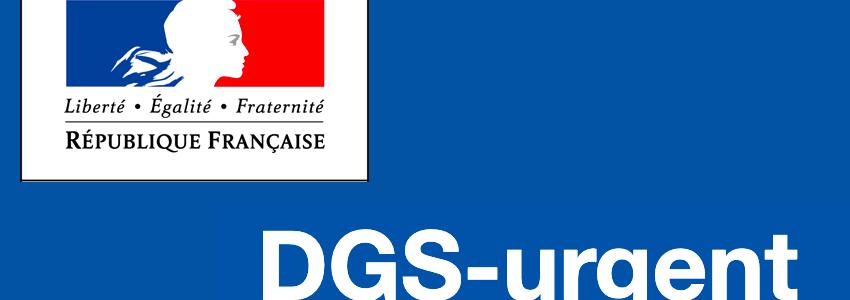 DGS URGENT LOGO